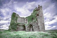 Замок Ballycarbery, Керри графства, Ирландия Стоковая Фотография RF