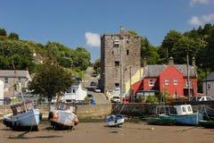 Замок Ballyhack графство Wexford Ирландия стоковые изображения