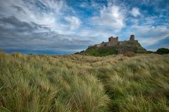 Замок Bamburgh Стоковая Фотография RF