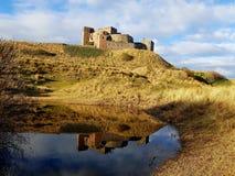 Замок Bamburgh стоковое изображение rf