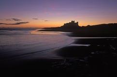 замок bamburgh Стоковые Изображения