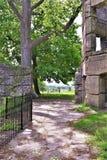 Замок Bancroft, городок Groton, Middlesex County, Массачусетса, Соединенных Штатов стоковое фото rf