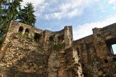 Замок Beaufort, Люксембург Стоковые Изображения