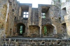 Замок Beaufort, Люксембург Стоковое Изображение RF