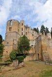 Замок Beaufort, Люксембург Стоковые Фотографии RF