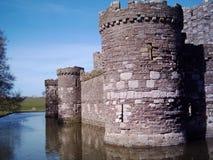 замок beaumaris стоковое фото rf