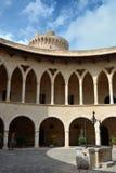 Замок Bellver Стоковые Изображения
