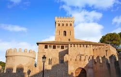 Замок Benissano Benisano в Валенсии стоковые фотографии rf