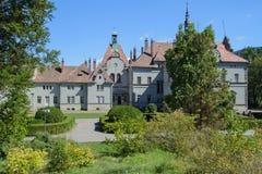 Замок Beregvar Shenborn Стоковая Фотография RF