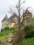 Замок Biron (Франция) Стоковое Изображение RF