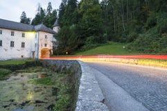 Замок Bistra в Словении Стоковое Фото
