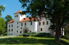 Замок Blansko ренессанса Стоковая Фотография RF
