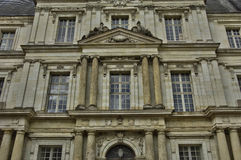 Замок Blois в Луаре et Шере Стоковые Фотографии RF