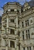 Замок Blois в Луаре et Шере Стоковая Фотография