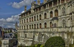 Замок Blois в Луаре et Шере стоковое изображение
