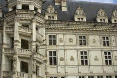замок blois стоковые изображения rf