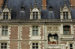 замок blois стоковая фотография rf