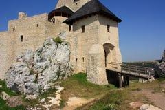 Замок Bobolice Стоковое фото RF