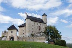 Замок Bobolice Стоковое Фото