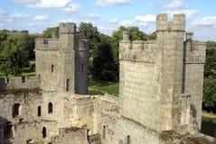 Замок Bodiam, восточное Сассекс, Англия Стоковые Изображения