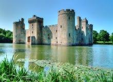 Замок Bodiam стоковые фото