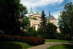 Замок Bojnice Стоковые Изображения