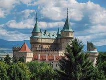 Замок Bojnice стоковая фотография rf