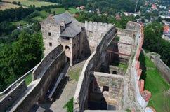Замок Bolkow Понизьте Силезию Польша Стоковая Фотография RF