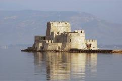 Замок Bourtzi Стоковые Изображения