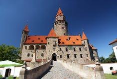 замок bouzov Стоковые Изображения
