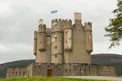 Замок Braemar в Шотландии Стоковое Изображение RF