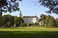 Замок Breznice стоковое изображение rf