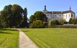 Замок Breznice стоковая фотография rf