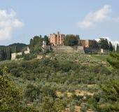 Замок Brolio в Chianti стоковая фотография