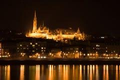 замок budapest Стоковые Изображения