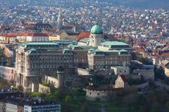 замок budapest buda стоковое фото