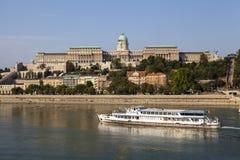 замок budapest buda Стоковые Изображения