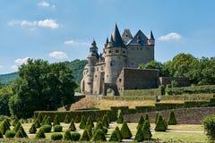 Замок Buerresheim Стоковое Изображение