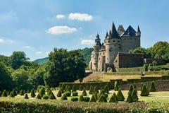 Замок Buerresheim Стоковое Фото
