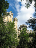 Замок Butron, Баскония, Испания Стоковые Изображения