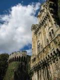 Замок Butron, Баскония, Испания Стоковое Фото