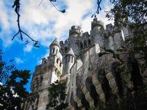 Замок Butron, Баскония, Испания Стоковые Изображения RF