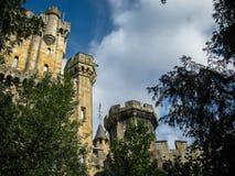 Замок Butron, Баскония, Испания Стоковая Фотография