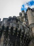 Замок Butron, Баскония, Испания Стоковые Фотографии RF