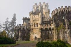 Замок Butron (Испании) Стоковые Фотографии RF
