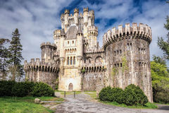 Замок Butron Стоковое фото RF
