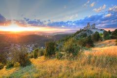 Замок Cachtice Стоковая Фотография RF