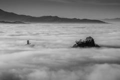 Замок Canossa Стоковая Фотография RF