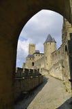 замок carcassonne Стоковые Фотографии RF