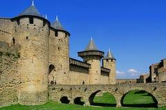 замок carcassonne Стоковое фото RF